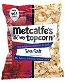 Metcalfe's skinny topcorn, Sea Salt flavour (12 packs)
