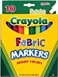 Crayola 10-Pack Fabric Markers (Single Box)