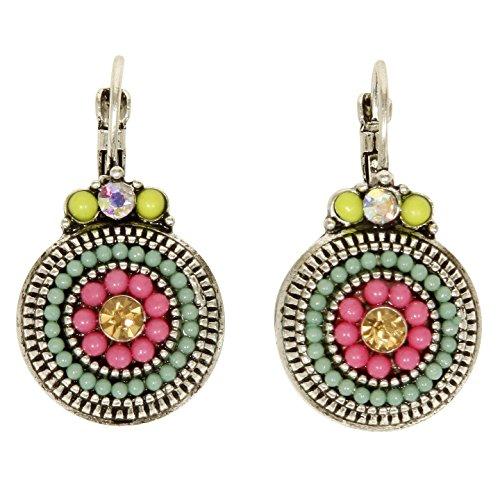 Vibrant Multicolor Drop Earrings