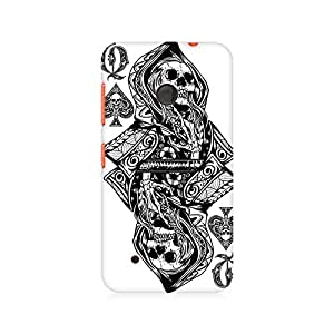 Mobicture Skull Abstract Premium Printed Case For Nokia Lumia 530