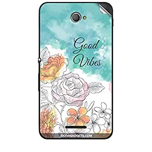 Skin4Gadgets Good Vibes Phone Skin STICKER for SONY XPERIA E4