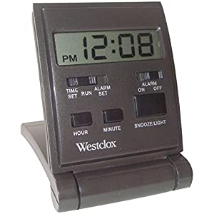 Westclox Travelmate Folding Alarm Clock