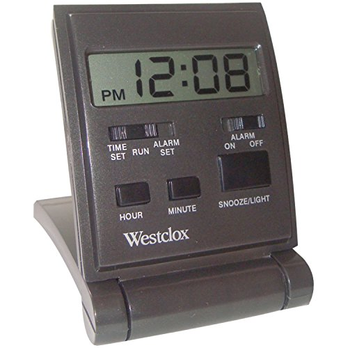 Westclox Travelmate Folding Alarm Clock