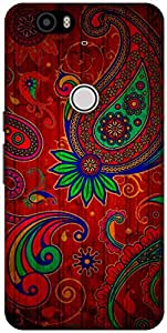 The Racoon Lean Taste of India hard plastic printed back case / cover for Huawei Nexus 6P