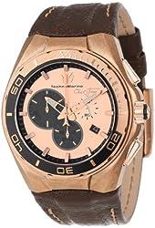 TechnoMarine Men's 112009 Cruise Steel Evolution Stonewashed Steel Case Watch
