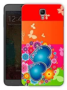 """Humor Gang Multicolor Hearts Printed Designer Mobile Back Cover For """"Samsung Galaxy Note 3"""" (3D, Matte, Premium Quality Snap On Case)"""