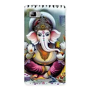 Gorgeous Ganesha Blessings Back Case Cover for Lenovo Vibe Z K910