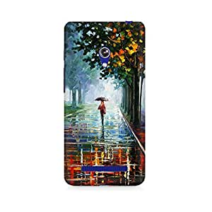 Mobicture Girl Abstract Premium Printed Case For Asus Zenfone Go