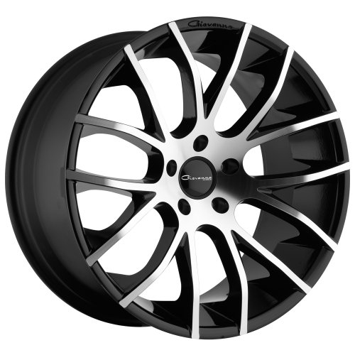 Giovanna Kilis Gloss Black  Machined Lip 20 x10