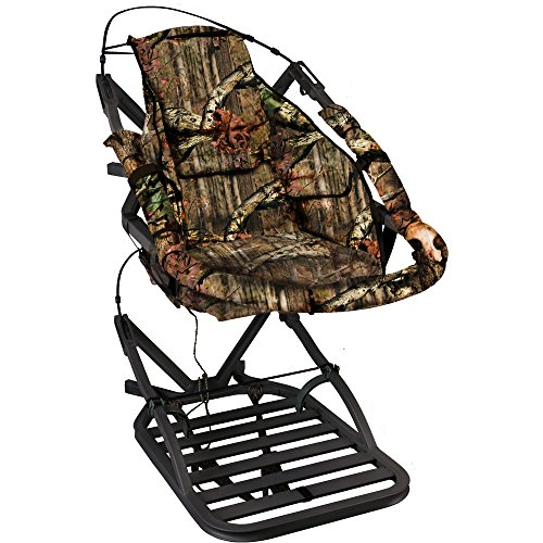 Buy Bargain Summit Treestands 180 Max SD Climbing Treestand, Mossy Oak