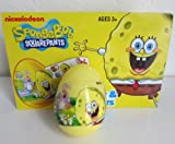 SpongeBob SURPRISE egg in a plastic shell with candy and stickers inside- 1 ct- IMPORTED from EUROPE