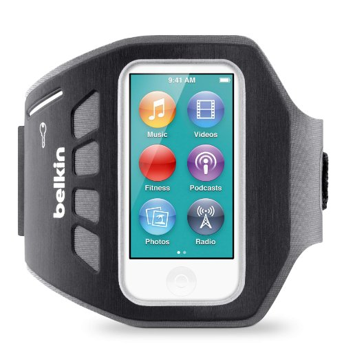 Belkin EaseFit Armband for iPod nano 7th Generation (Black)