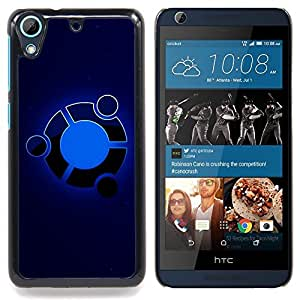 Omega Covers - Snap on Hard Back Case Cover Shell FOR HTC DESIRE 626 - Blue