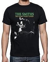 The Smiths The World Won't Listen Men's Fashion Quality Heavyweight T-Shirt.