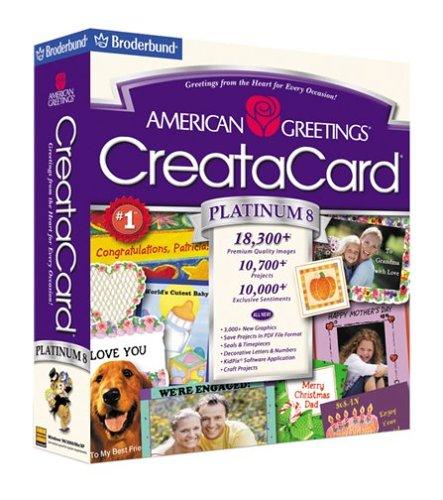 American Greetings Creatacard Platinum 8