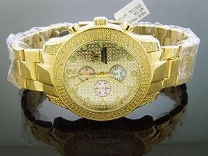 Aqua Master Men's 20 Diamond Watch Yellow Gold