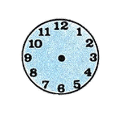 "Center Enterprise CE458 ""SMALL CLOCK"" Stamp"