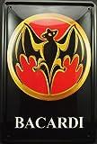 Bacardi and Bat Black 8