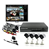 ZMODO 8 CH CCTV Surveillance DVR IR LED Camera System 500GB