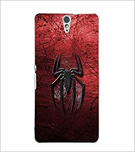 PrintDhaba Spider D-2323 Back Case Cover for SONY XPERIA C5 ULTRA (Multi-Coloured)
