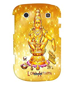 Fuson Premium Lord Ayyappa Printed Hard Plastic Back Case Cover for Blackberry Bold 9900