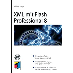 eBook Cover für  XML mit Flash Professional 8