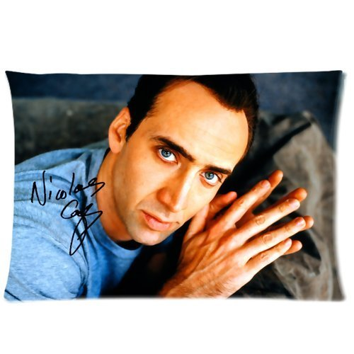 Cartrol Cotton & Polyester Custom Pillowcase-Custom Nicolas Cage Pillowcase Standard 20X30 (One Side) Pillow Cover front-652108