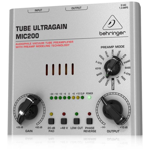 Behringer Tube Ultragain Mic200 back-32942