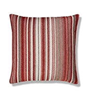 Zig Zag Chenille Striped Cushion