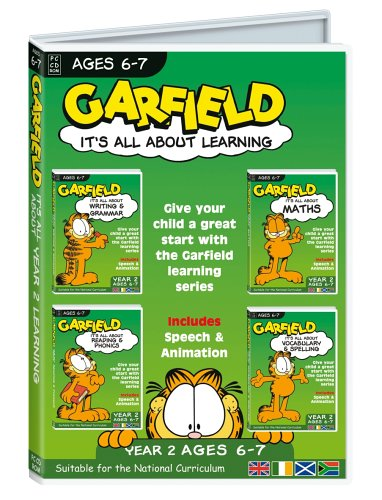 Garfield It's All About.. Year 2 Learning (PC)