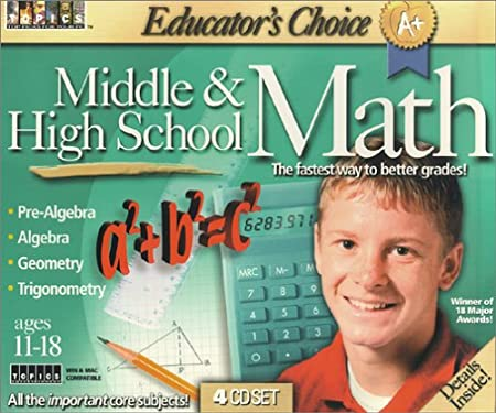 Educator's Choice Middle and High School Math
