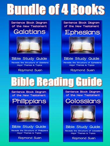 25 Books Of Raymond Suen  U0026quot Bible Study Guides - Bundle Of 4 Books