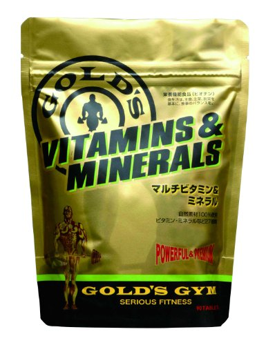 GOLD'S GYM マルチビタミン&ミネラル90粒