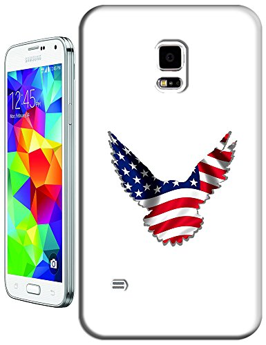 Sangu The American Flag Eagle Fly Hard Tpu Samsung Galaxy S5 Case