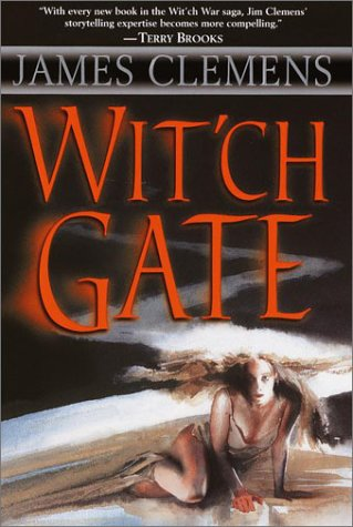 Cover of Wit'ch Gate (Banned & the Banished) by James Clemens