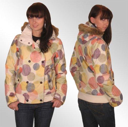 Damen Snowboard Jacke Roxy Europa Jacket wms ivory S