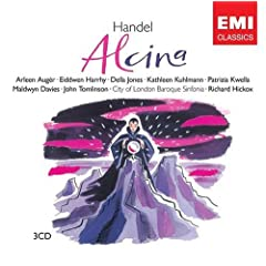 Handel - Alcina / Auger, Jones, Kuhlmann, Tomlinson, City of London Baroque Sinfonia, Hickox