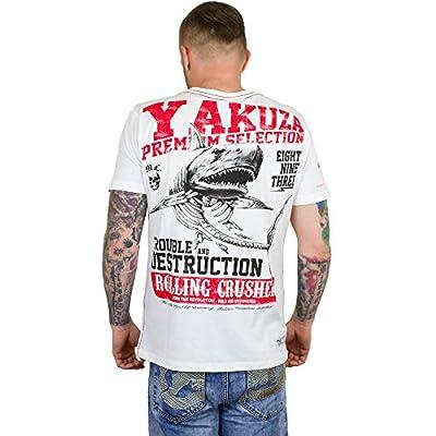 Yakuza Premium T-Shirt Shark weiß
