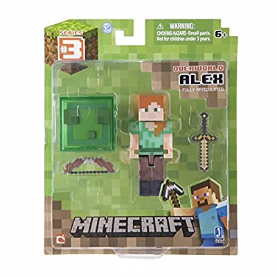 Minecraft Series 3 Alex Action Figure With Accessory by Minecraft