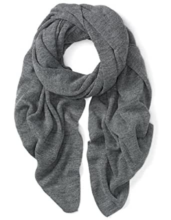 100% Cotton Jersey Scarf Grey