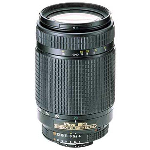 Nikon 70-300mm f/4-5.6D ED AF Nikkor SLR Camera Lens