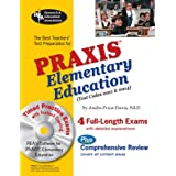 PRAXIS II Elementary Ed, 0011 & 0014w/CD-ROM (REA) - The Best Teachers' Prep (PRAXIS Teacher Certification Test Prep) ~ Dr. Anita Price Davis...