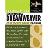 Macromedia Dreamweaver 8 Advanced for Windows and Macintosh: Visual QuickPro Guide (Visual QuickPro Guides)by Lucinda Dykes