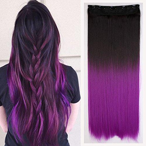Fashi (Black To Purple Hair)