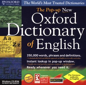 SELECTSOFT USA The Pop-up New Oxford Dictionary of English (Windows)