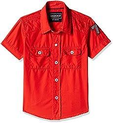 Cherokee Boys' Shirt (267982234_Red_3 - 4 years)