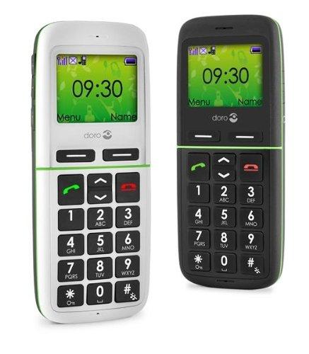 Doro PhoneEasy 345gsm weiß Bluetooth Großtastenhandy