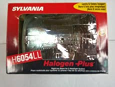 Sylvania H6054LL Halogen High and Low Beam Headlight