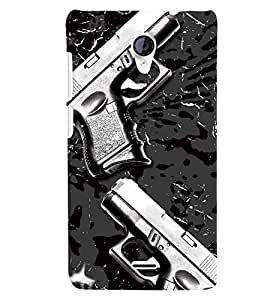 Micromax A106 Unite 2 MULTICOLOR PRINTED BACK COVER FROM GADGET LOOKS
