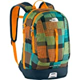 THE NORTH FACE Children's Backpack, Tagesrucksack Mini Base Camp Free Fall, 14.0 Liters, orange safety orange plaid, T0A93NB5G